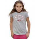 T-Shirt - Girls tailliert, (Gr. 116 - 152), 100% BW (heathergrey)